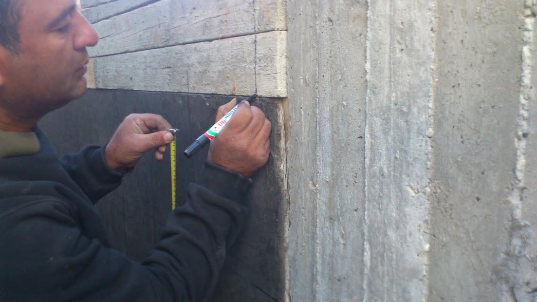 המשך תיכנון והכנת טפסנות ליציקת מדרגות ועמודים