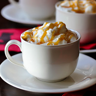 Toffee Caramel Latte.