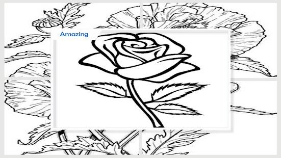 Ehrfürchtiges Blumen-Färbung-Buch – Apps bei Google Play
