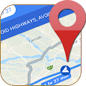 GPS Route Finder & Transit Maps Navigation Live icon