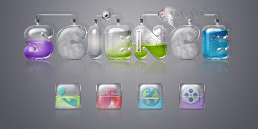 科學實驗室主題(立體 3D 科技感十足)