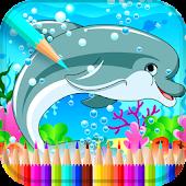 Tải Game Sinh vật biển cuốn sách màu