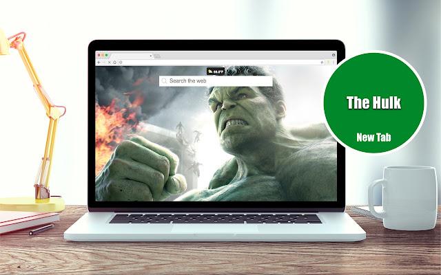 The Hulk Wallpapers New Tab Theme