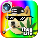Thug Life Photo Editor Dank Memes 2018 icon