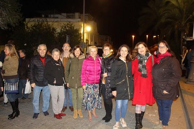 La diputada nacional Sonia Ferrer junto a concejalas del PSOE del Ayuntamiento de Almería.