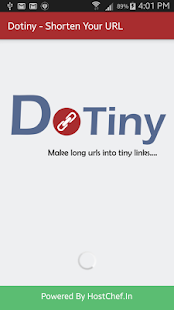 Dotiny - Shorten Your URL- screenshot thumbnail