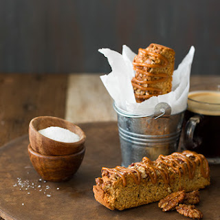 Salted Caramel and Candied Pecan Biscotti