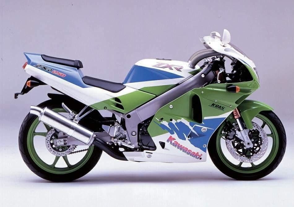 Kawasaki ZXR 250-manual-taller-despiece-mecanica