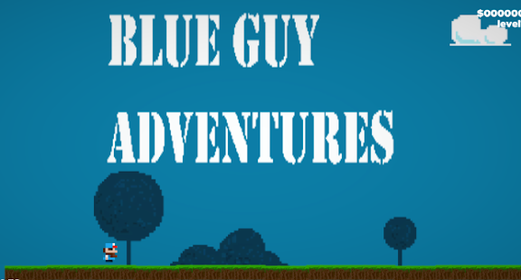 Blue Guy Adventure - náhled