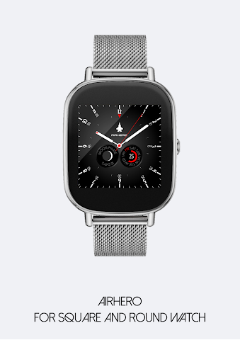android Airhero Watch Face Screenshot 5