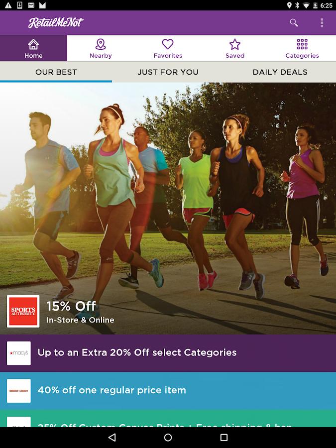 RetailMeNot Coupons, Discounts- screenshot