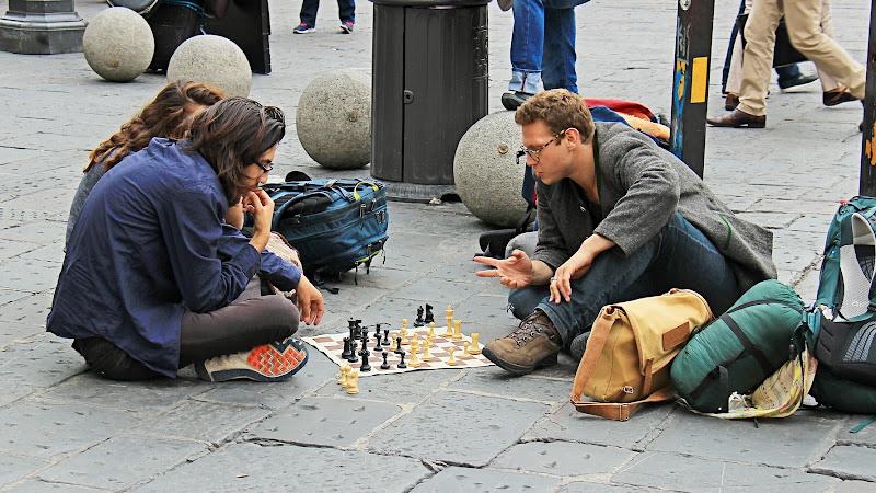 Partita a scacchi in piazza di marvig51