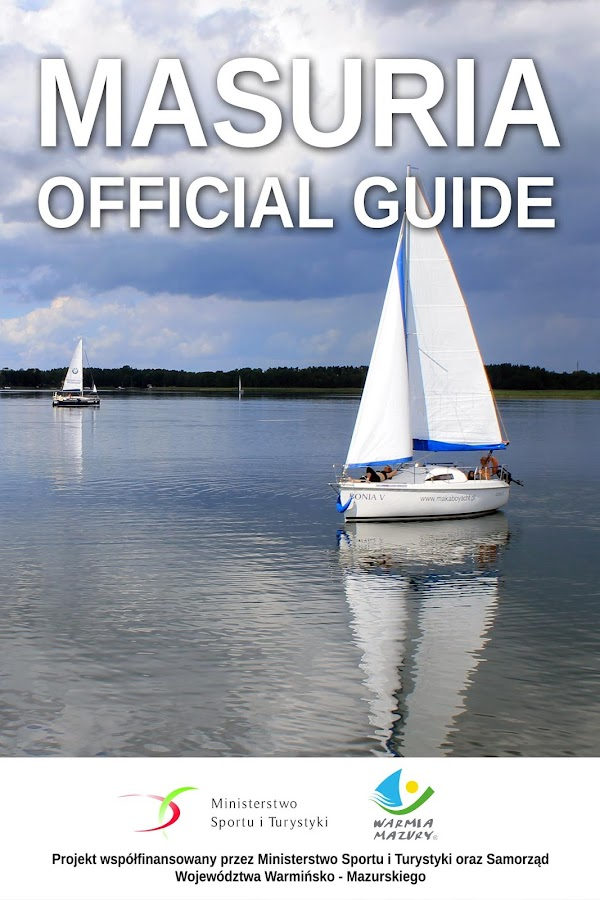 Masuria. Official Guide – zrzut ekranu