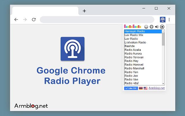 Chrome Radio Player