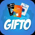 Gifto - Get Free Diamonds, UC, Gift Cards & Cash icon