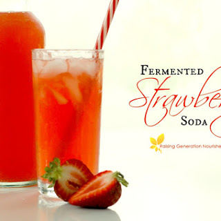 Fermented Strawberry Soda