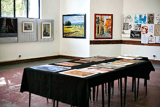 Photo: Exposição na Casa dos Barcos, no Parque D. Carlos I