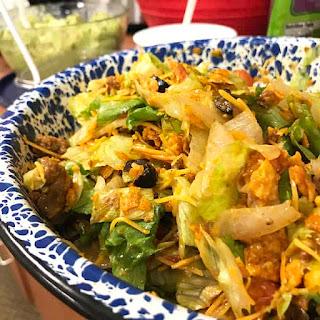 Beef Taco Salad.