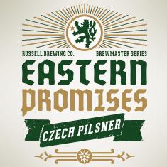 Logo of Russell Eastern Promises Czech Pilsner