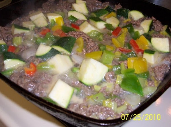 In large saucepan, I use my cast iron fry pan, coat with a little...
