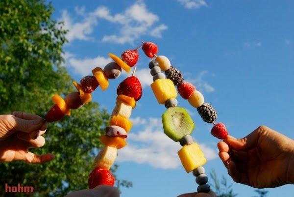 Frozen Fruit Kabobs Recipe