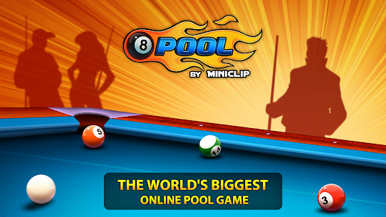 8 Ball Pool MOD (Extended Stick Guideline) 5