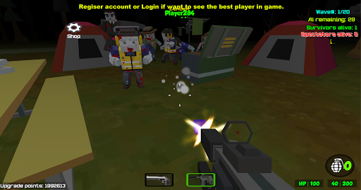 Combat Pixel Arena 3D - Zombie Survival cheat screenshots 1