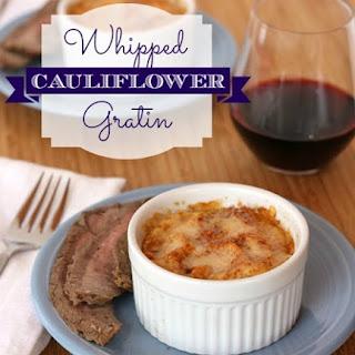 Whipped Cauliflower Gratin