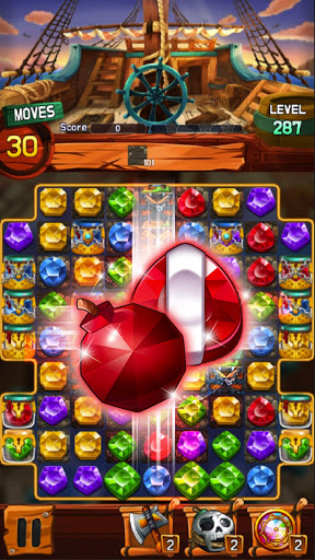 Jewel Voyage: Match-3 puzzle apktram screenshots 1