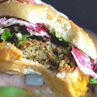 "The Best Veggie ""Big Mac"" With Radicchio Slaw [Vegan, Gluten-Free]"