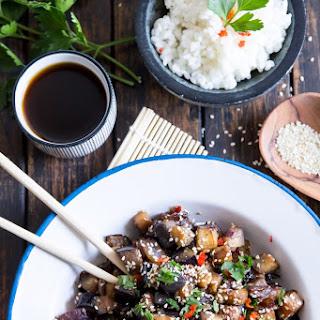 Teriyaki Eggplant With Plum Wine