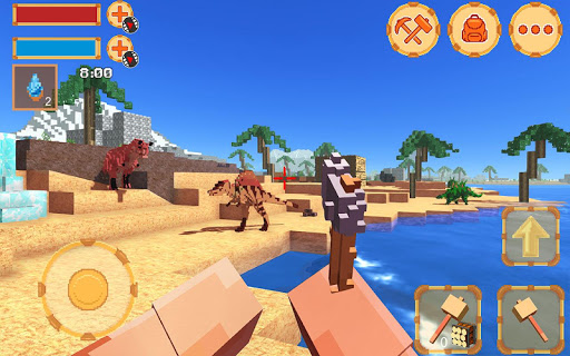 Blocky Ark Survival 3D screenshot 1
