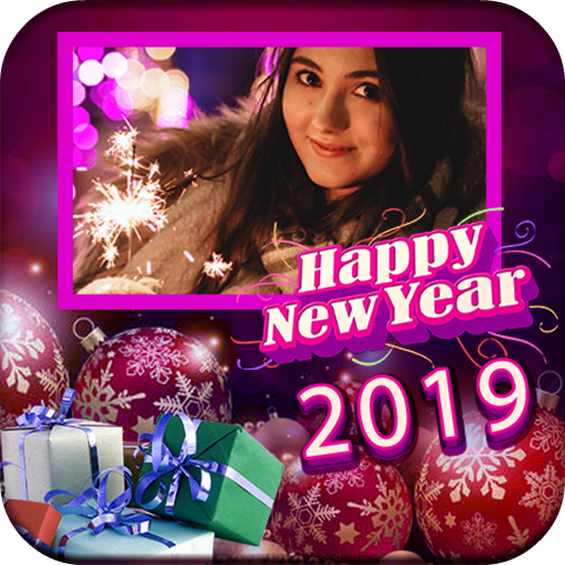 New Year Picture Frames 2019 Icon