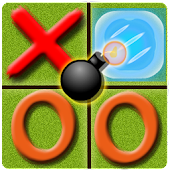 Tictactoe Superpowers, free game. Fun and Challege