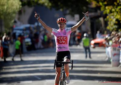 Marianne Vos maakt kwintet vol en kroont zich tot eindwinnares Tour de l'Ardèche