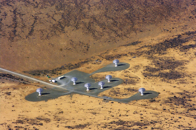 Aerial view of the Square Kilometre Array core site. Picture: RUPERT SPANN