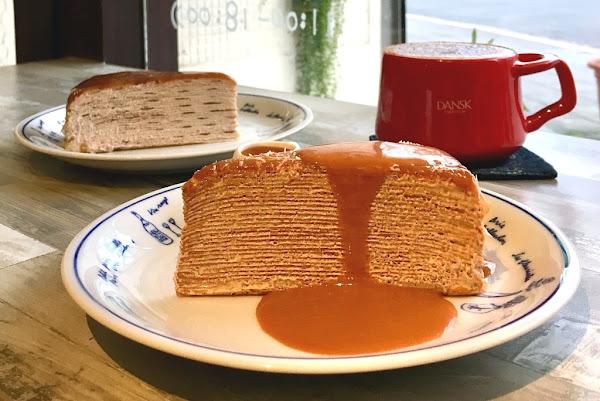 好休咖啡 HaoXiu Kaffe_茶控絕對會滿意的千層蛋糕_伯爵千層不讓泰奶千層專美於前