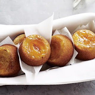 Apricot Upside-Down Cakes.