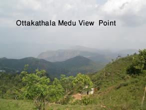 Photo: Ottakathalamedu View Point