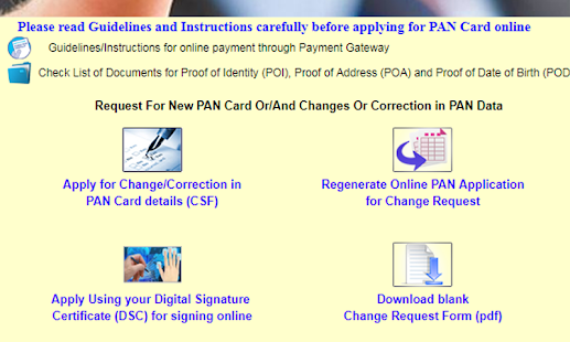 PAN Card Indian Smart Servies - náhled
