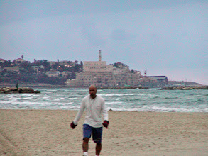 Photo: Looking south towards Jaffa; Tel Aviv was once a suburb of Jaffa--now it is reversed.