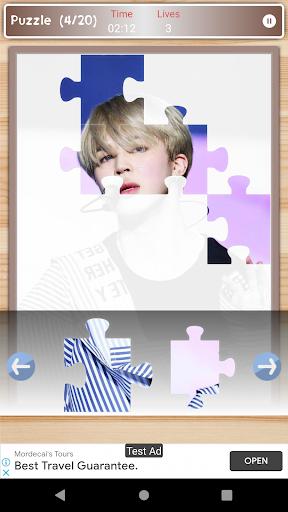 Jimin BTS Game Puzzle And Wallpapers HD 1.3 screenshots 6