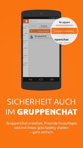 sayHEY gratis Messenger & SMS screenshot 4