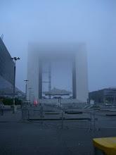Photo: La brume est au rendez-vous en ce 11 janvier 2014