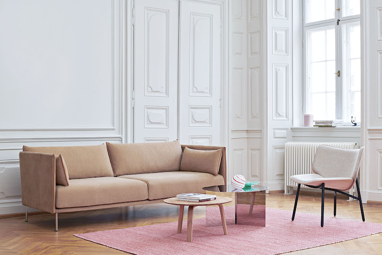 The Silhouette Sofa by GamFratesi.