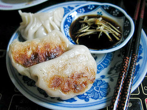 Chinese potsticker pork dumpling recipe