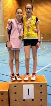 Photo: Alsace 2014 Simple Dames benjamins Médaille d'argent: Margot Tailfer