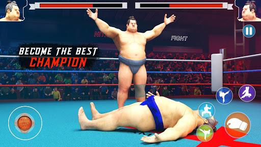 wrestling games sumo fighting 3d free game 1.0 screenshots 4