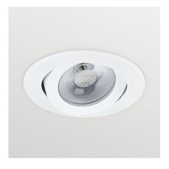 Philips Essentials recessed spot light Enif Vit