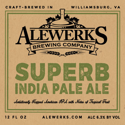 Logo of Alewerks Superb IPA